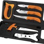 Outdoor Edge WildPak, 8-Piece Field to Freezer Hunting Knife Set
