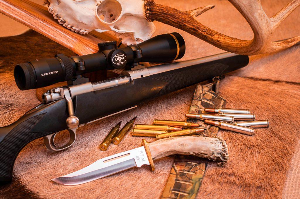 Bolt Action Big Game Hunting Rifles