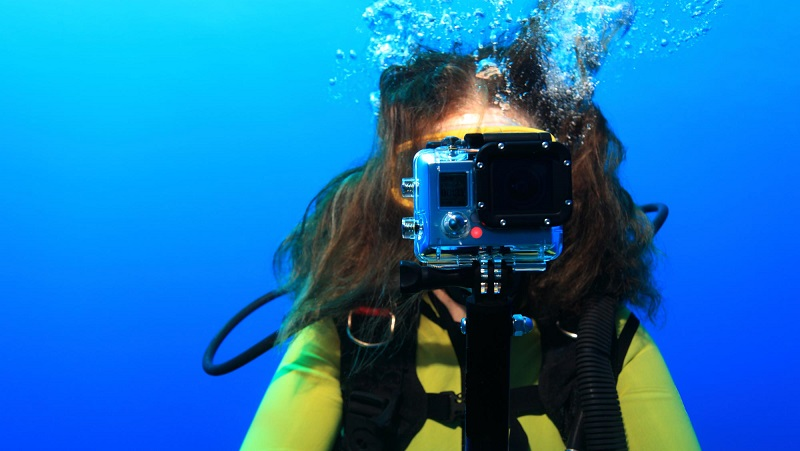 Cameras for Diving