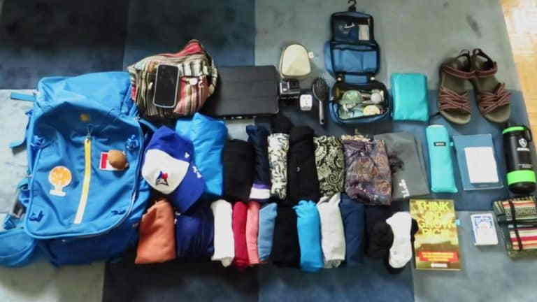How to Pack a Backpack for Your Vacation Time