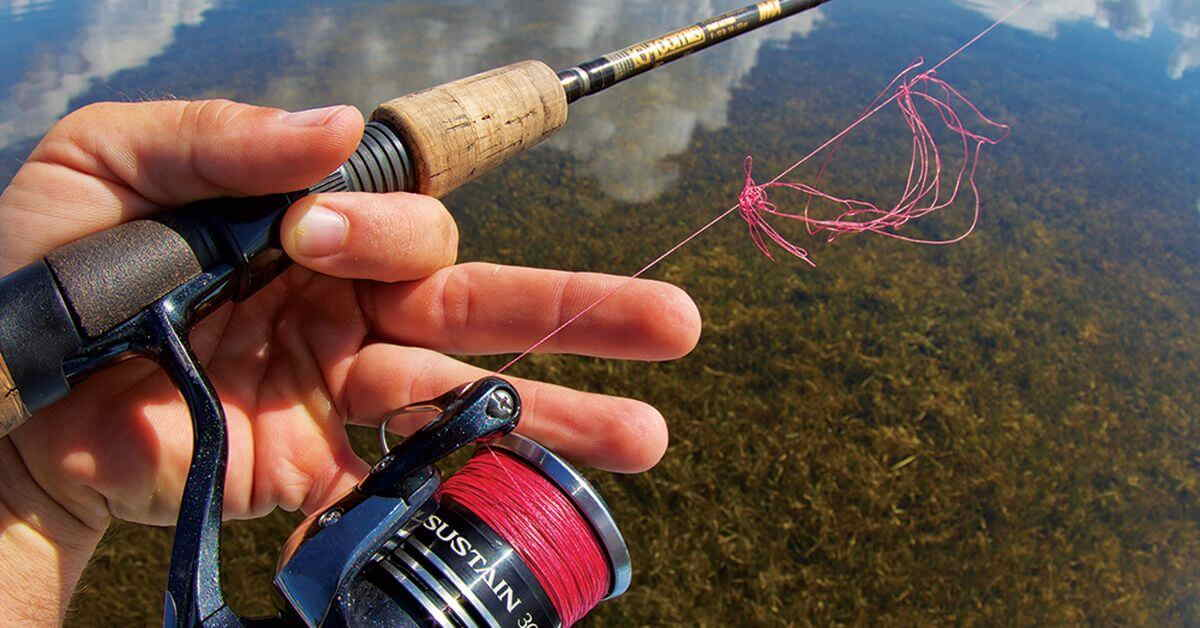 Spool A Spinning Reel Without Line Twist