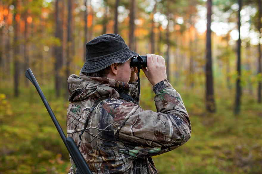 STAYING FIT WHILE HUNTING