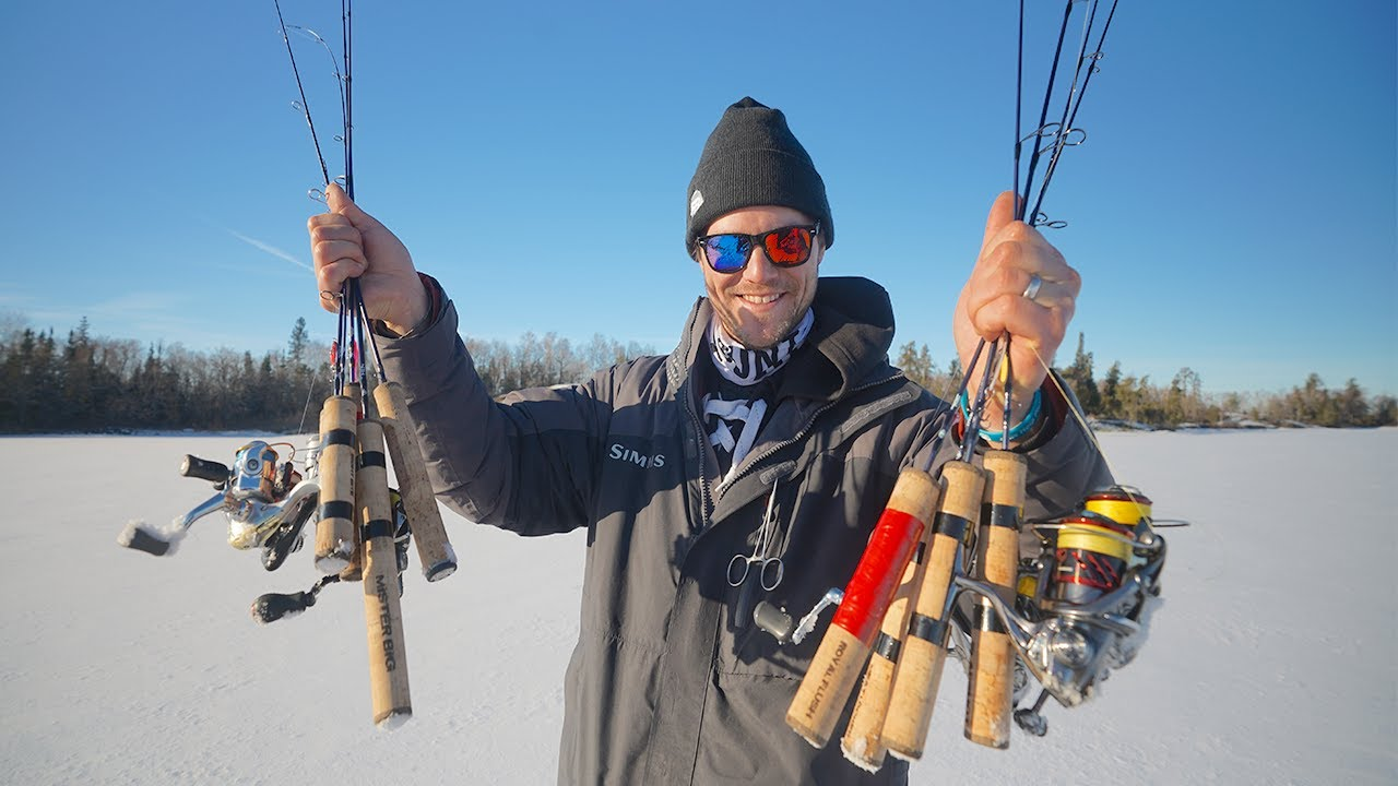 Ice Fishing Rods Reviews