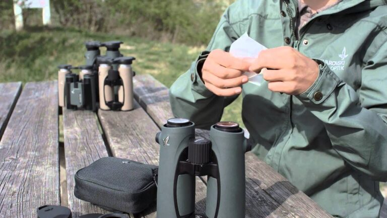 Maintenance of the Binoculars: Tips for easy and fast maintenance